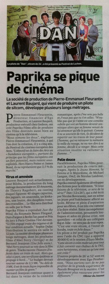 """[Série] """"Dan"""" avec Justine Le Pottier et Bertrand Usclat (2012) - Page 2 54146110"""