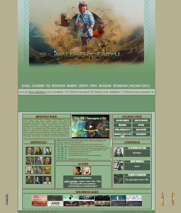 Les anciennes versions Screen10