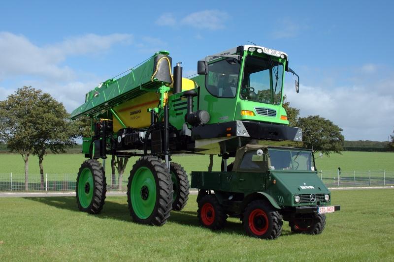 Unimog et MB Trac pour une utilisation agricole dans le monde  - Page 2 Damman15