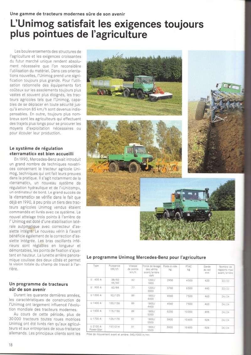 Unimog et MB Trac pour une utilisation agricole dans le monde  - Page 2 Docs_u10