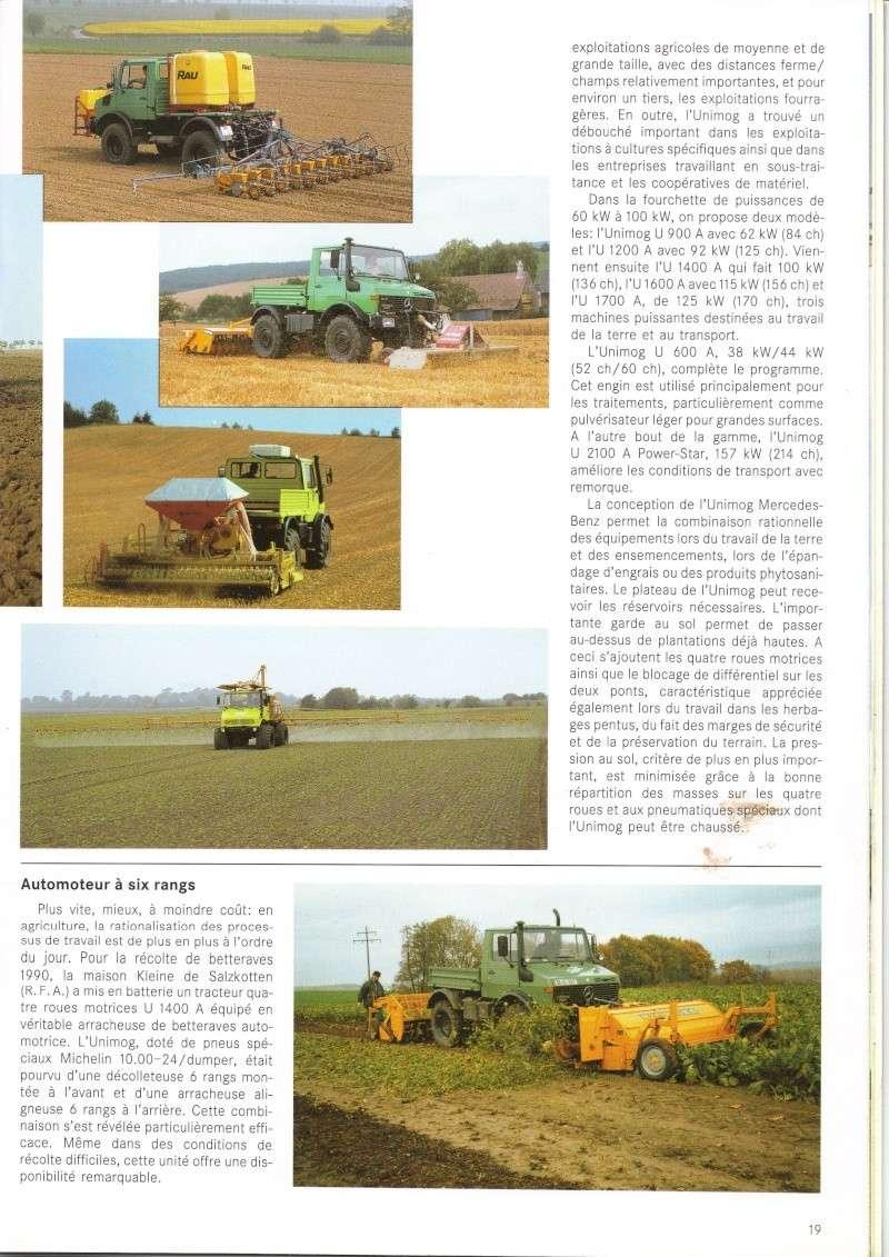 Unimog et MB Trac pour une utilisation agricole dans le monde  - Page 2 Docs_u11