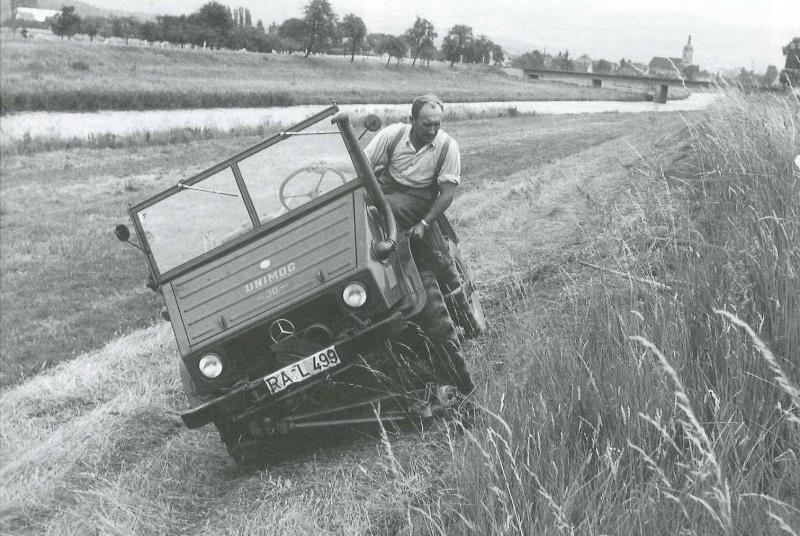 Unimog et MB Trac pour une utilisation agricole dans le monde  - Page 2 Fauche19
