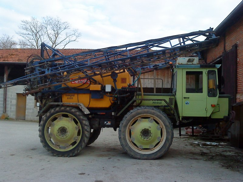 Unimog et MB Trac pour une utilisation agricole dans le monde  - Page 2 Pulva-14