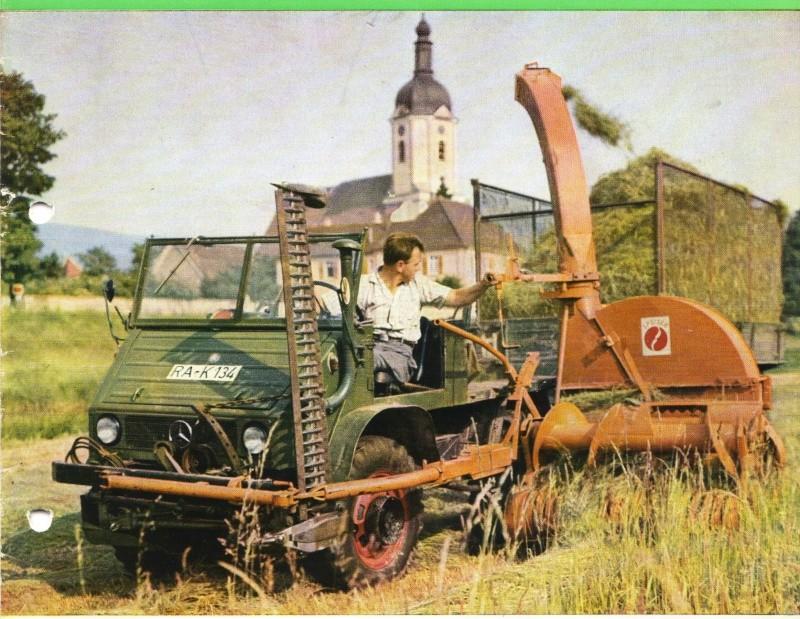 Unimog et MB Trac pour une utilisation agricole dans le monde  - Page 2 U_411_15