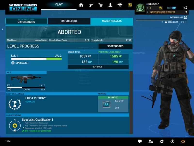 Juguemos al Ghost Recon Online Ghostr11