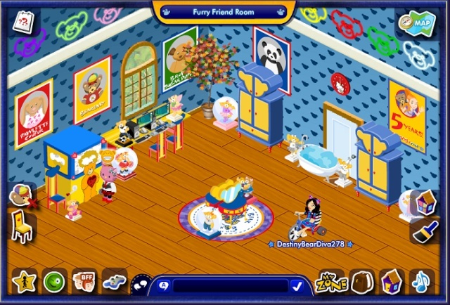 My Bear's Rooms Candyc15