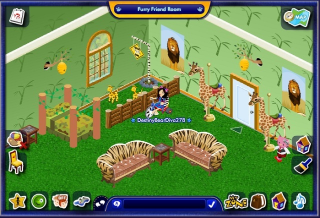 My Bear's Rooms Clumsy10