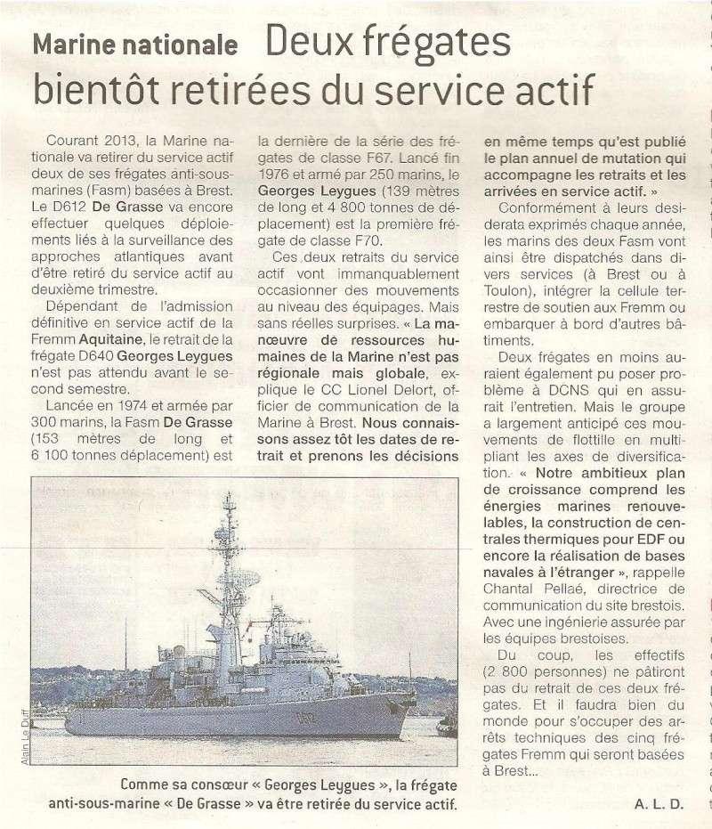De Grasse et Georges Leygues retirés du service actif 00110