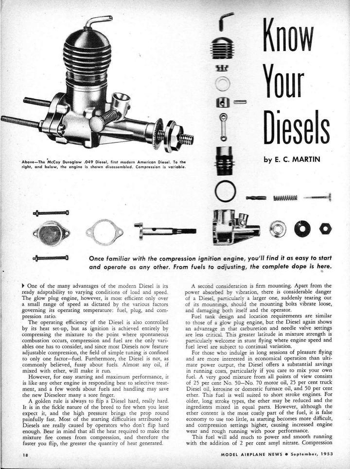 McCoy Duro-Glo .049 Diesel Duro-g10