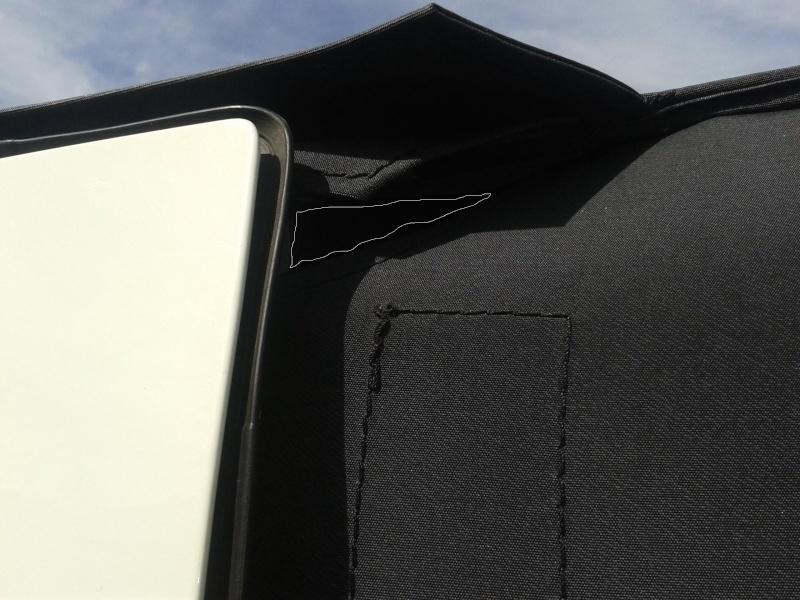 Buchi nel suntop (chiarimenti di montaggio) Buco110