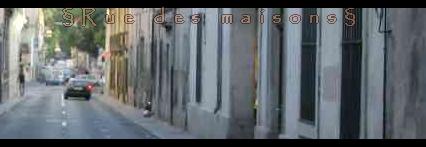 Rue des maisons