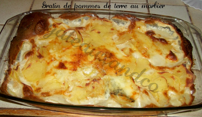 gratin de pommes de terre au Morbier Photo_18