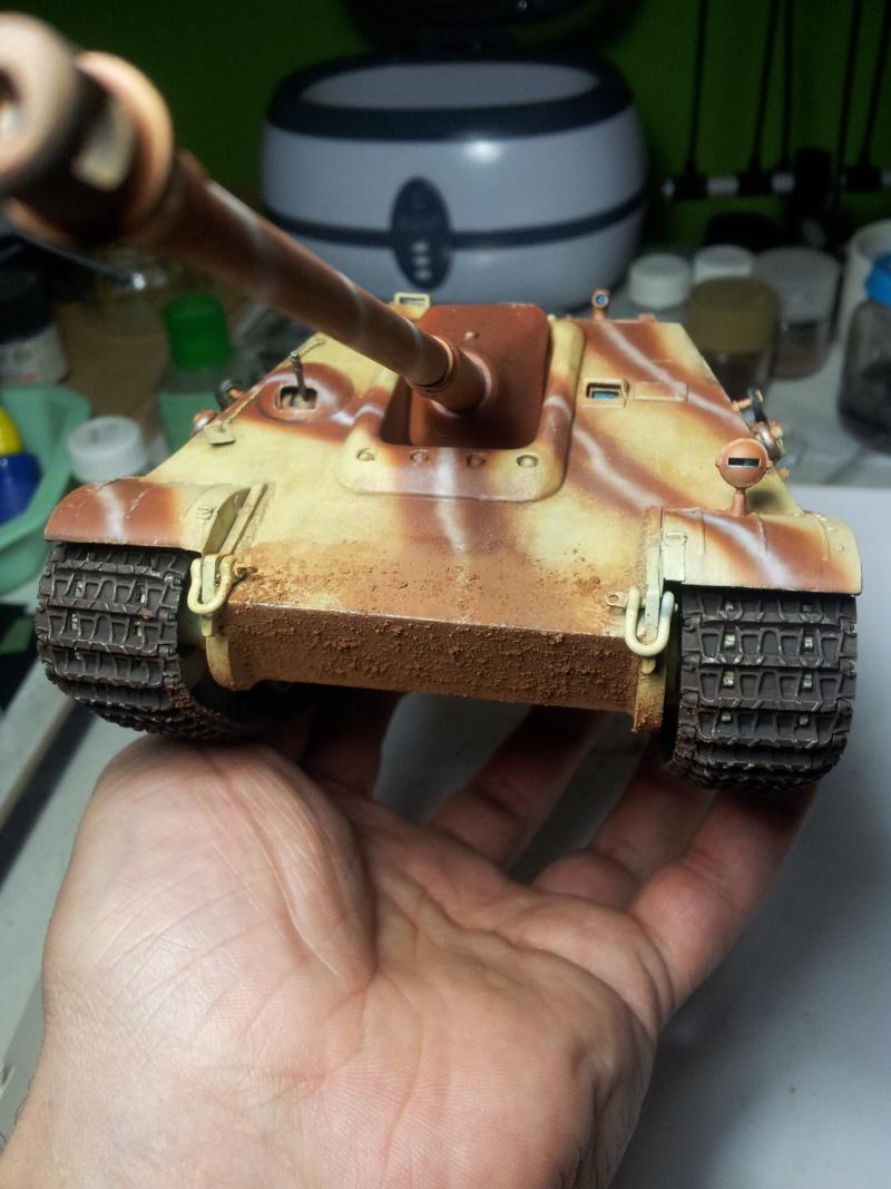 Remise au gout du jour : Jagdpanther Tamiya 35069 + photodécoupe Aber - Page 2 20130411