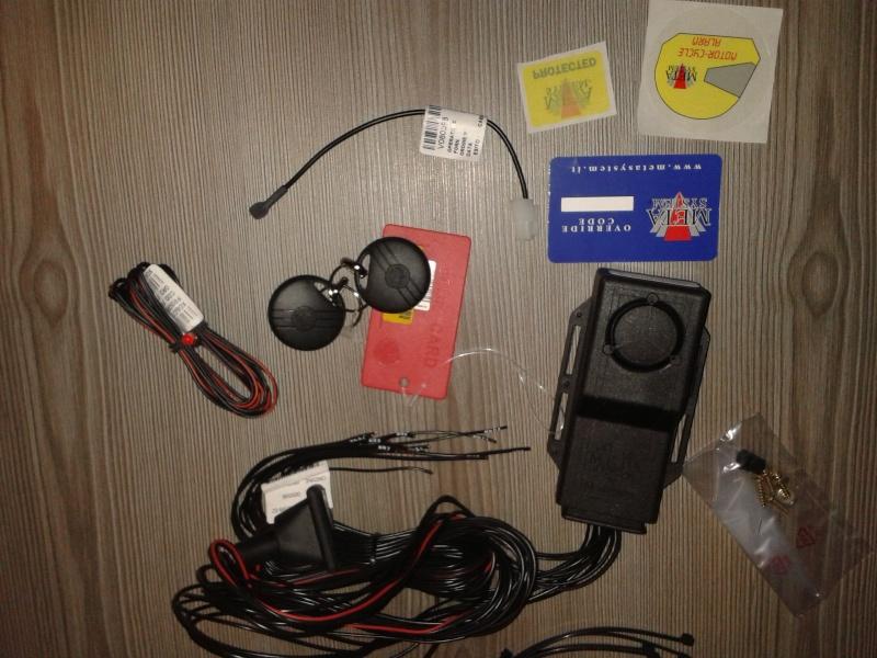 schéma éléc de montage alarme meta system M359 19010