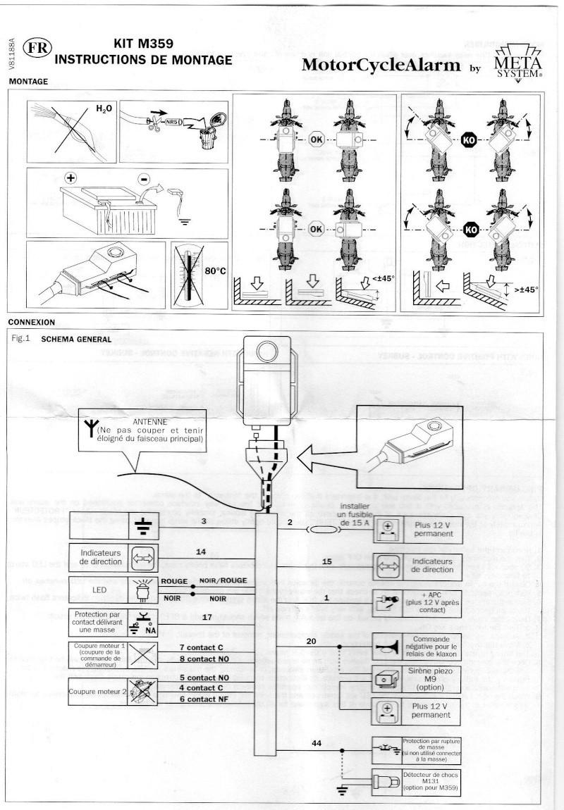 schéma éléc de montage alarme meta system M359 Img22610