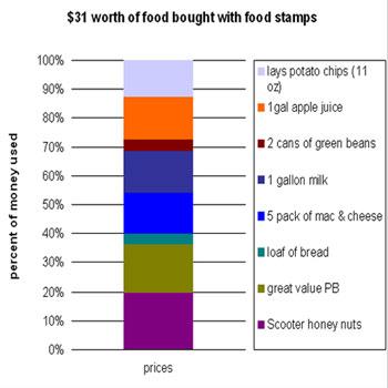 Assignment 11: Excel Part II (Food Stamp Challenge) due April 19 31-sta10
