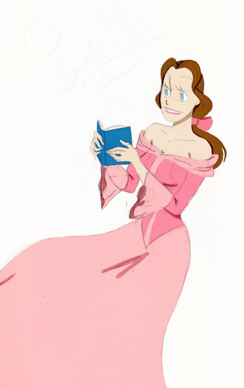 [FanArts] La Belle et la Bête ! - Page 3 Belle_17