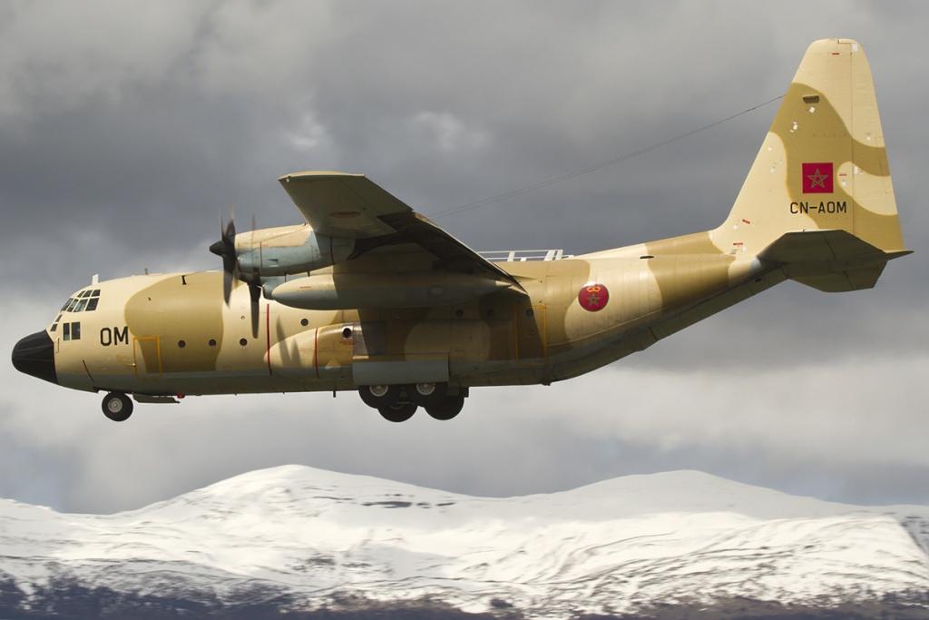 طائرات النقل العاملة بالقوات المسلحة المغربية 85790511