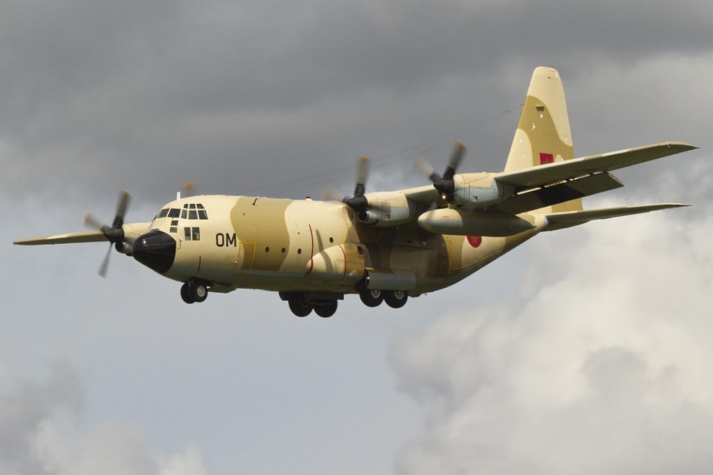 طائرات النقل العاملة بالقوات المسلحة المغربية 85801410