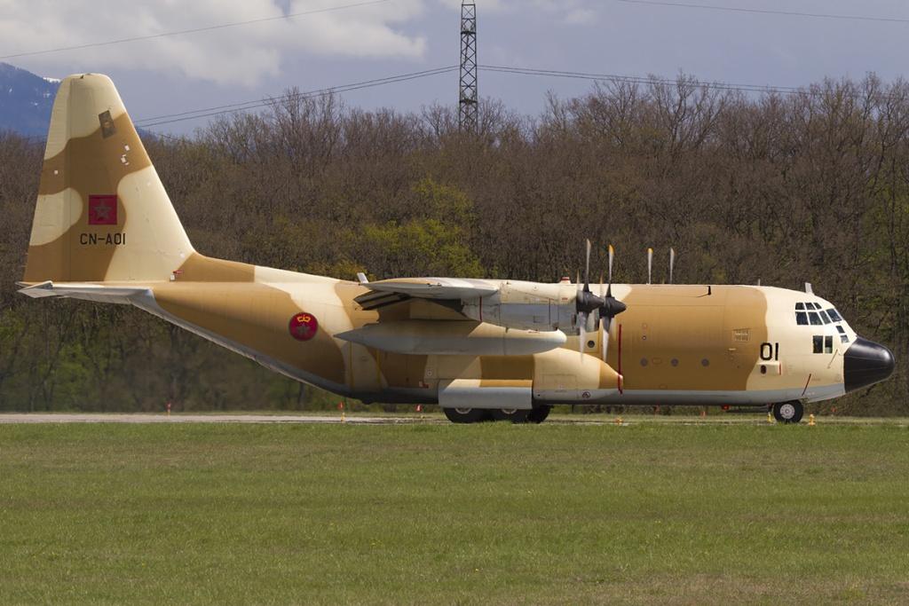طائرات النقل العاملة بالقوات المسلحة المغربية 85801510