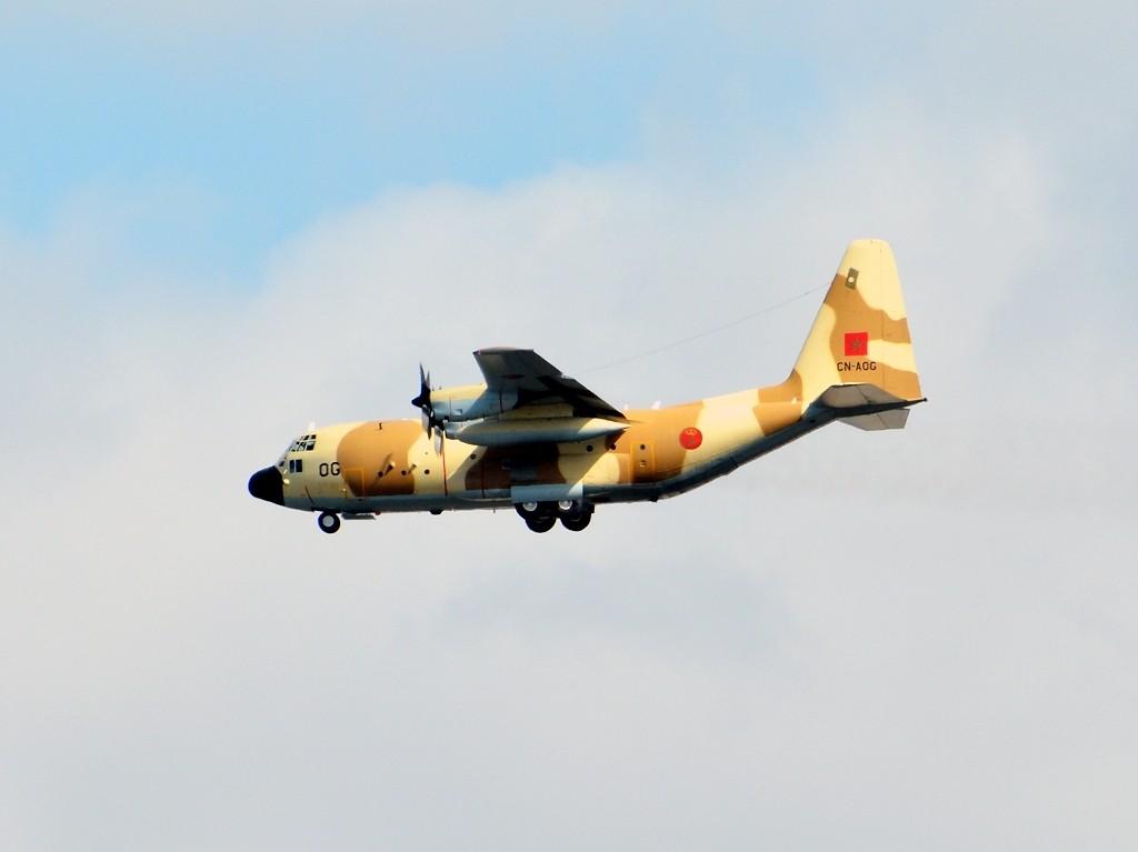 طائرات النقل العاملة بالقوات المسلحة المغربية Clipbo24
