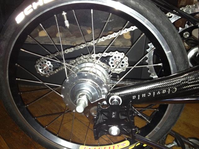 Jante et rayon : améliorer les roues du Brompton - Page 13 Photo12