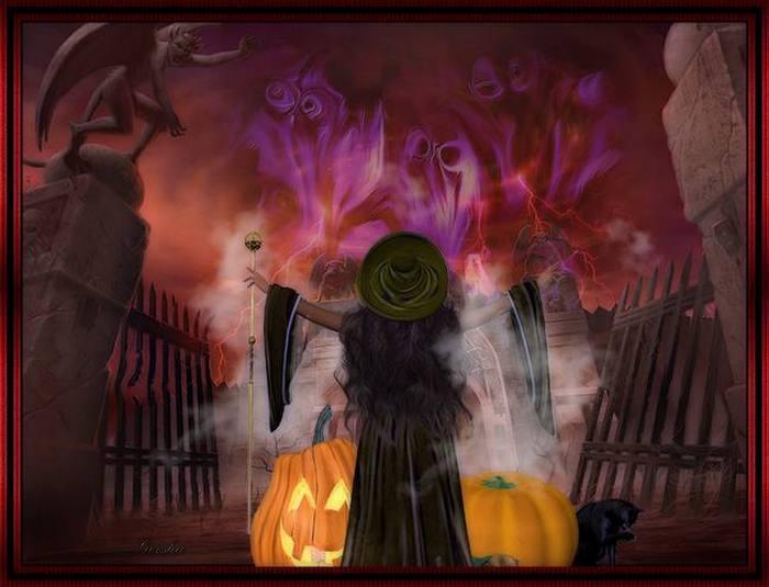halloween - Page 4 Defi711