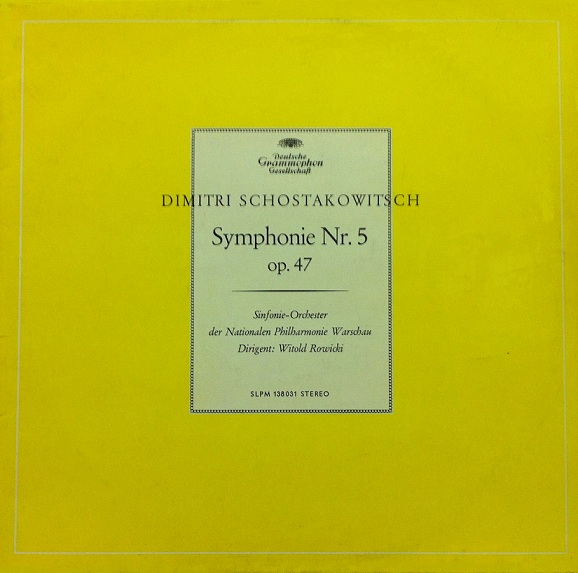 Chostakovitch Symphonie n°5 Chosta12