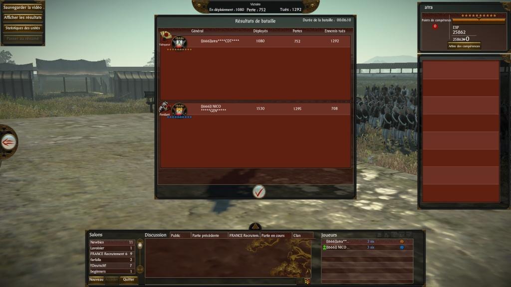 Screen du tournoi shogun 2013-030