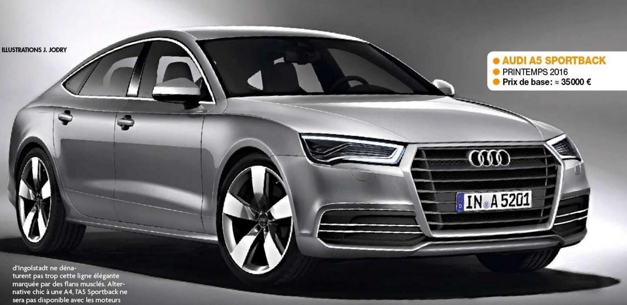 2016 - [Audi] A5 Coupé, Cabriolet et Sportback A510