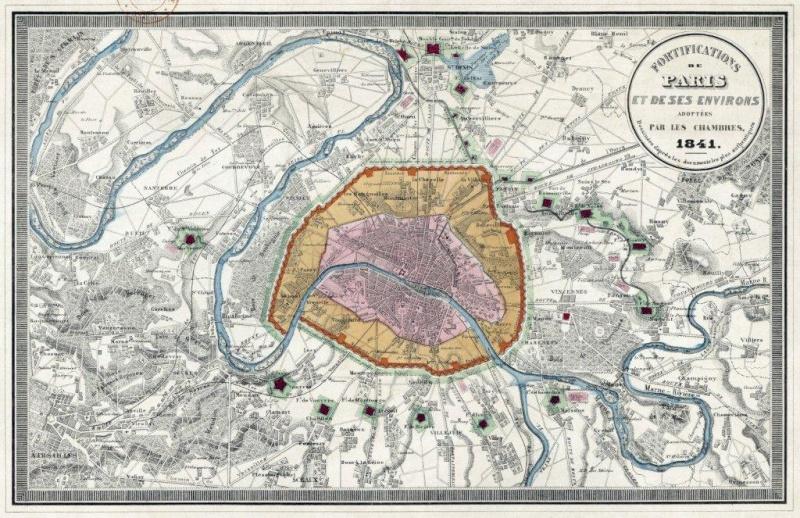 la redoute et ses alentours en 1870 1871 mais aussi en 1960 et au-delà Fortif10