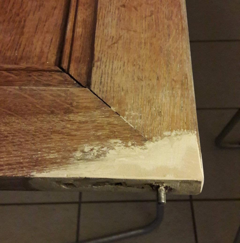 teindre une réparation en mastic sur bois 20200310