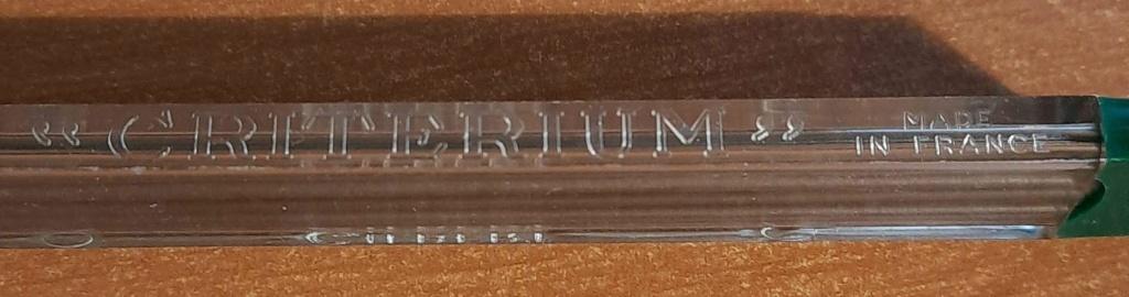 Cherche criterium type 2611 pour mines de 118/100 20201213