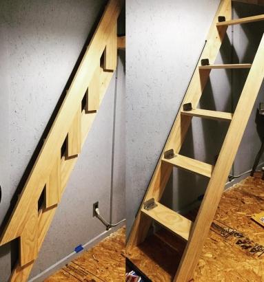 plan escalier pliable D064fd10