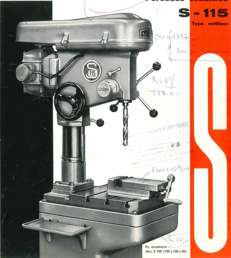 Perceuse à colonne Sydéric S20  / Démontage / Nettoyage / Remontage - Page 4 S11510