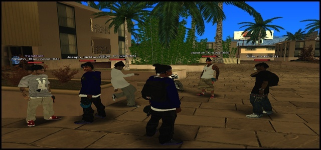 216 Black Criminals - Screenshots & Vidéos II Samp110