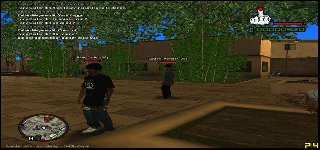 216 Black Criminals - Screenshots & Vidéos II Samp210