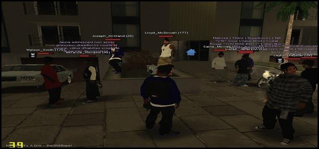 216 Black Criminals - Screenshots & Vidéos II - Page 2 Samp910