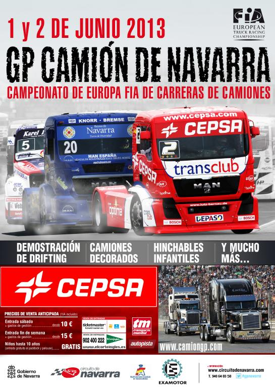GP Camión de Navarra - 1 y 2 de Junio 2013 Portad10