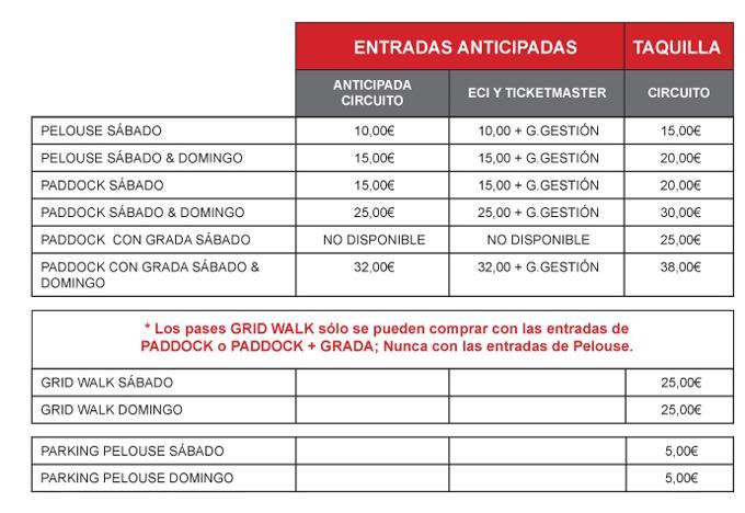 GP Camión de Navarra - 1 y 2 de Junio 2013 Precio10