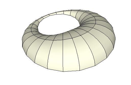 [Sketchup] Modéliser une forme de croissant de lune Caputr10