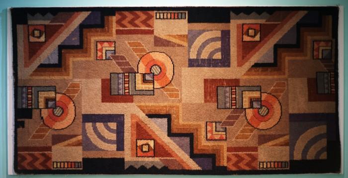 Art Deco British wool rug A_rug10