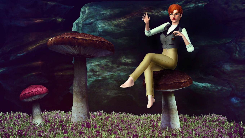 Seul sur un champignon - Galerie de diat - Page 13 Champi11