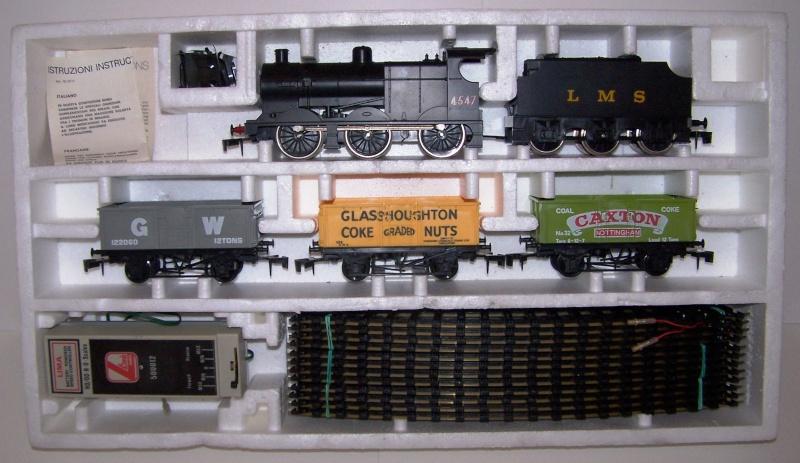 """Le coffret vapeur 4F avec train de """"mineral"""" référence 0116 de Lima O scale  Lima_c19"""