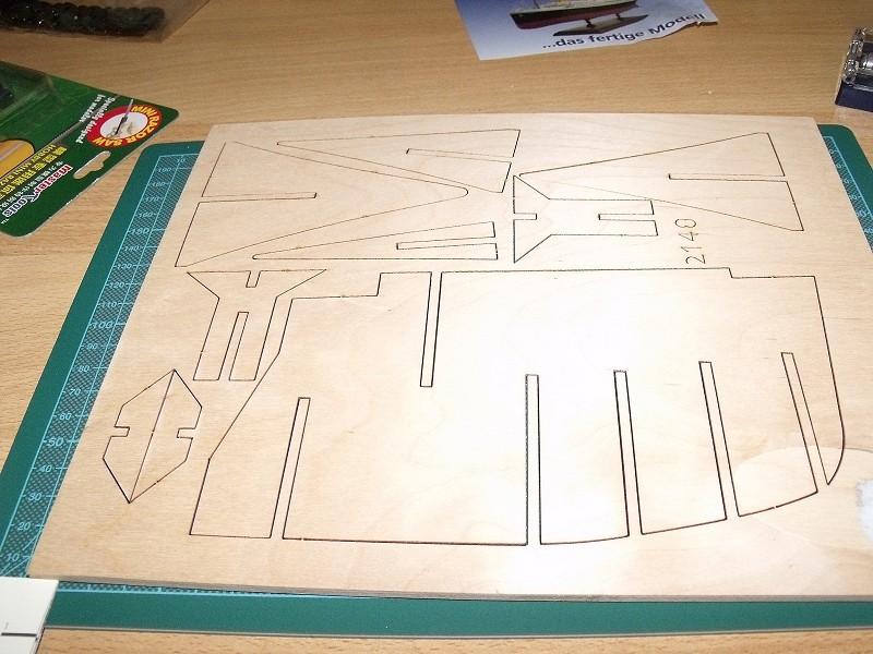 TITANIC von Amati 1:250 Hachette Etappenbausatz von 2002/2003 00410