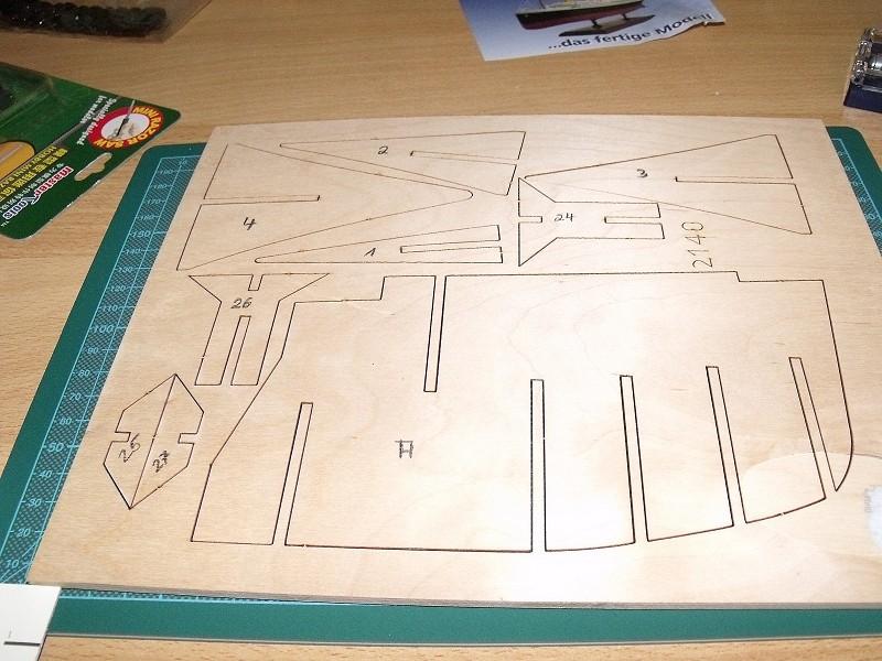 TITANIC von Amati 1:250 Hachette Etappenbausatz von 2002/2003 00510
