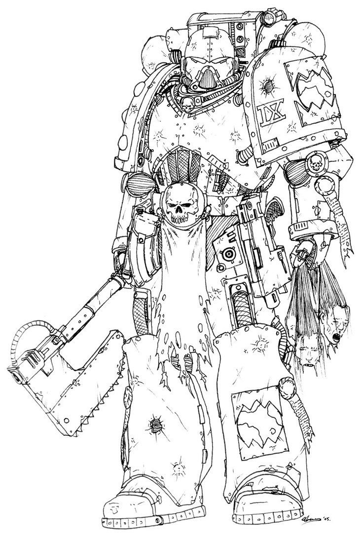 [W40K] Collection d'images : Space Marines du Chaos - Page 2 Pre_he10