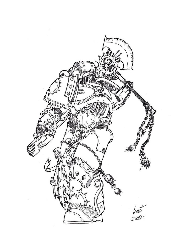 [W40K] Collection d'images : Space Marines du Chaos - Page 2 World_12
