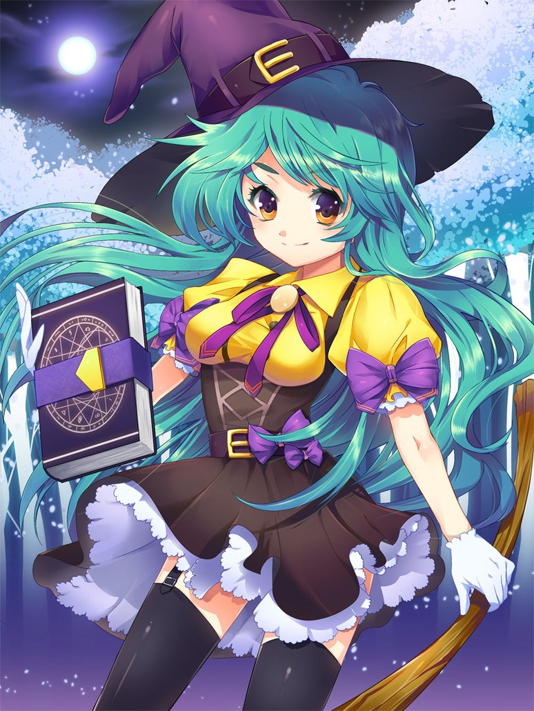 Limited - Halloween Graphics~! <3 Witch_10