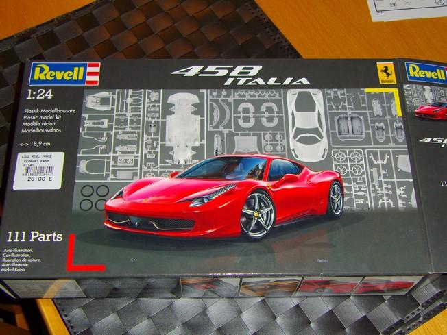 FERRARI 458 ITALIA de Revell 1/24 115
